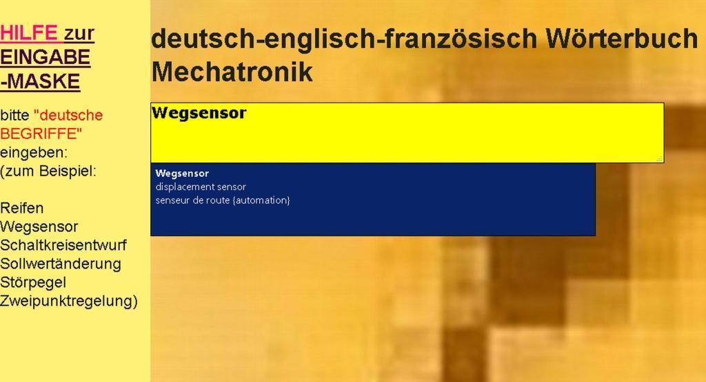 Uebersetzungen in deutsch-englisch-franzoesisch...
