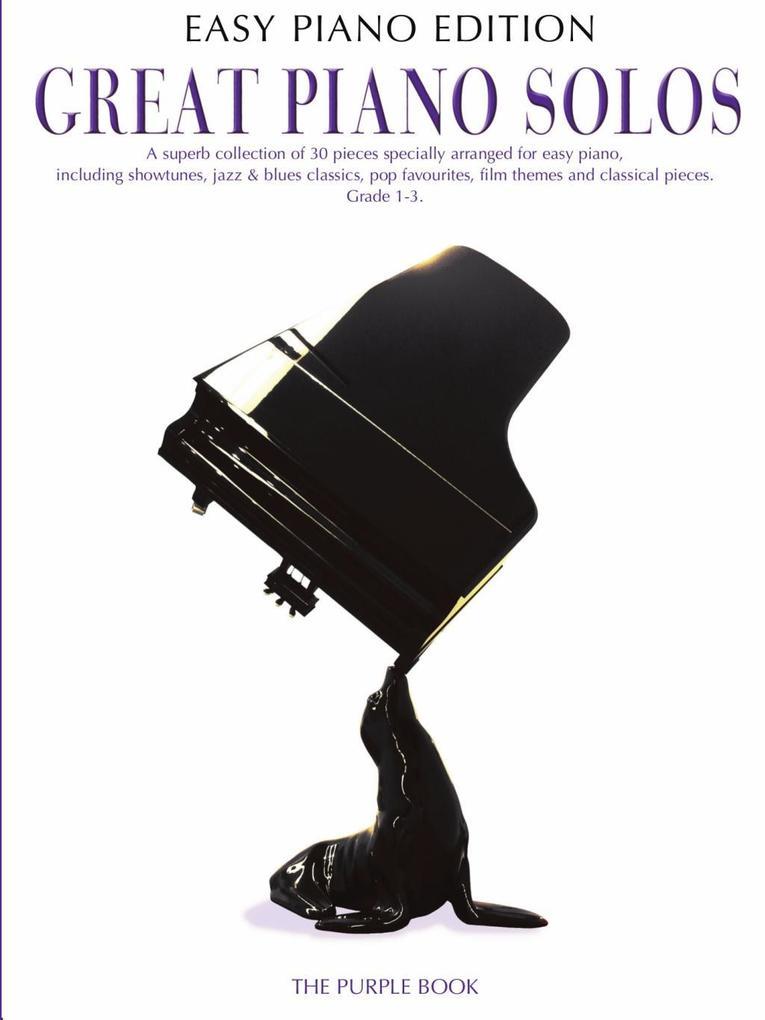 Great Piano Solos: The Purple Book (Easy Piano ...