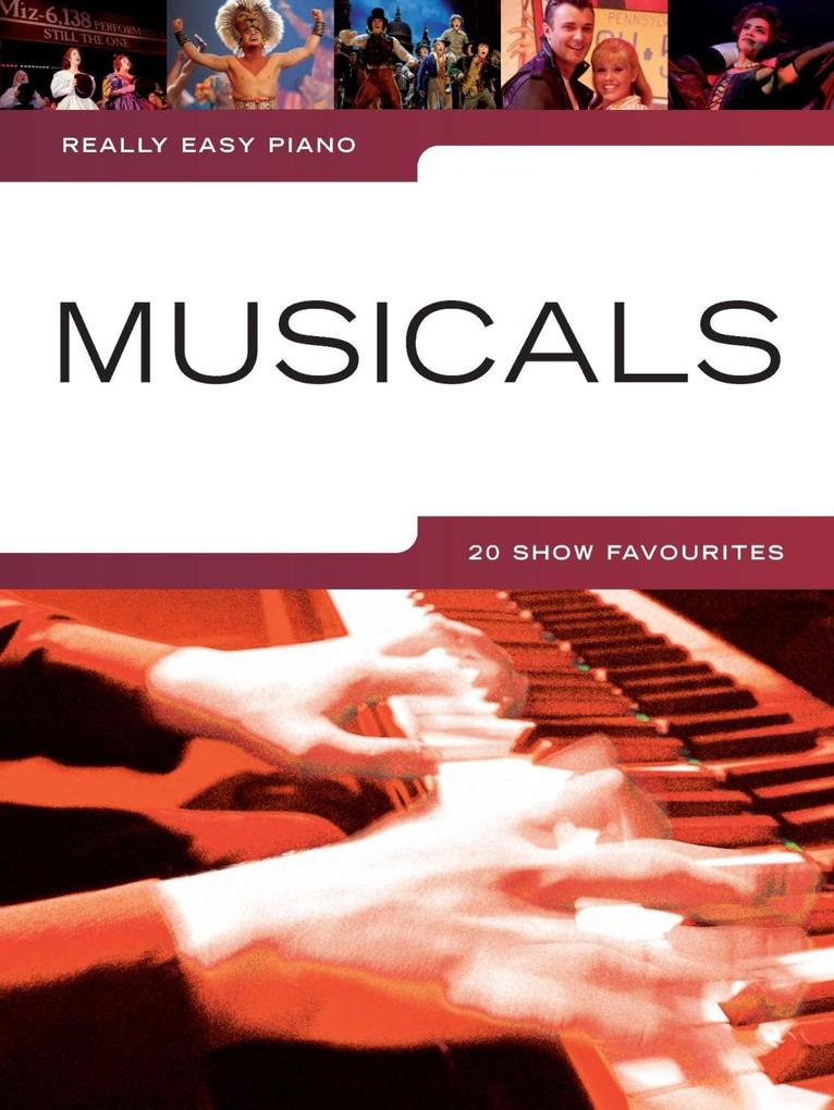 Really Easy Piano: Musicals als eBook Download ...