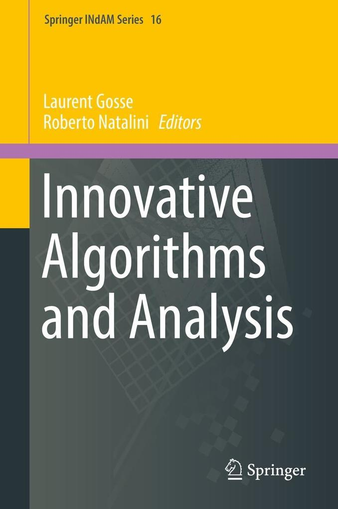 Innovative Algorithms and Analysis als eBook Do...