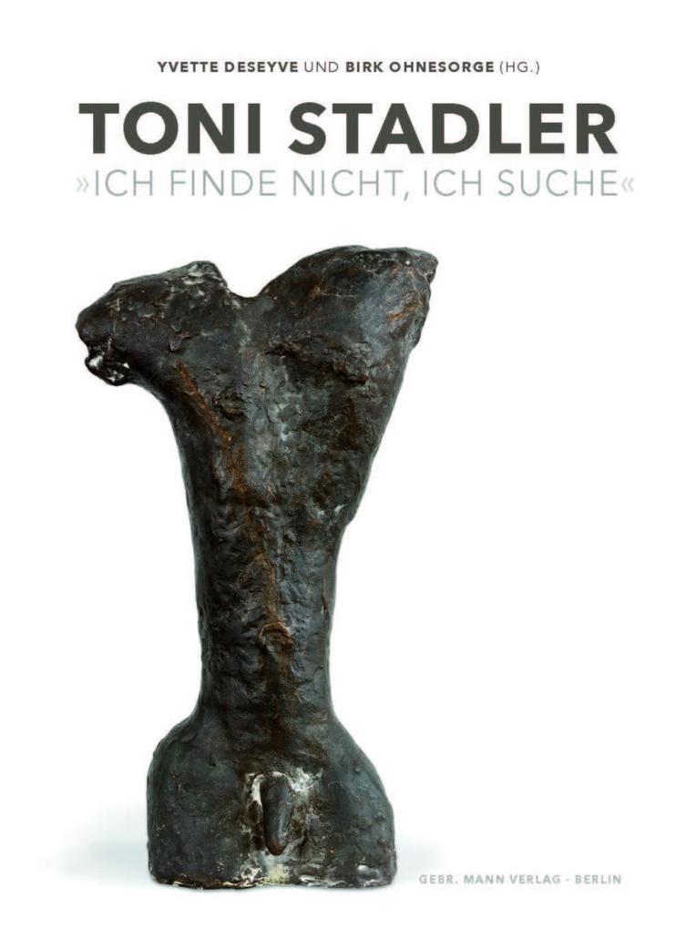 Toni Stadler als Buch von