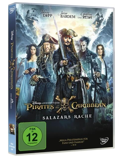 Pirates of the Caribbean: Salazars Rache - DVD als DVD