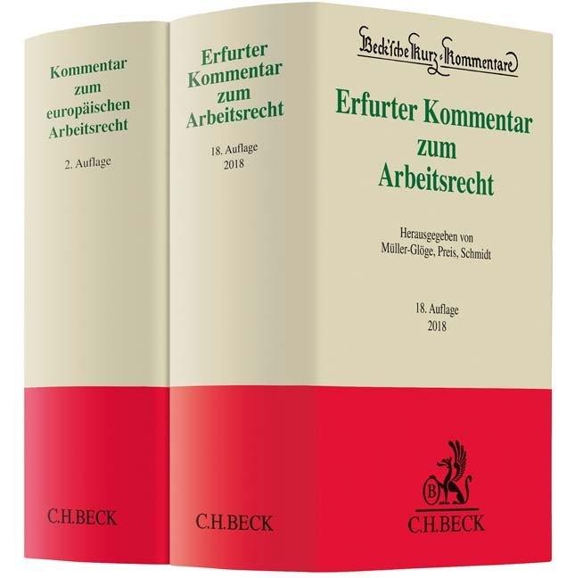 Erfurter Kommentar zum Arbeitsrecht (18. A.) un...