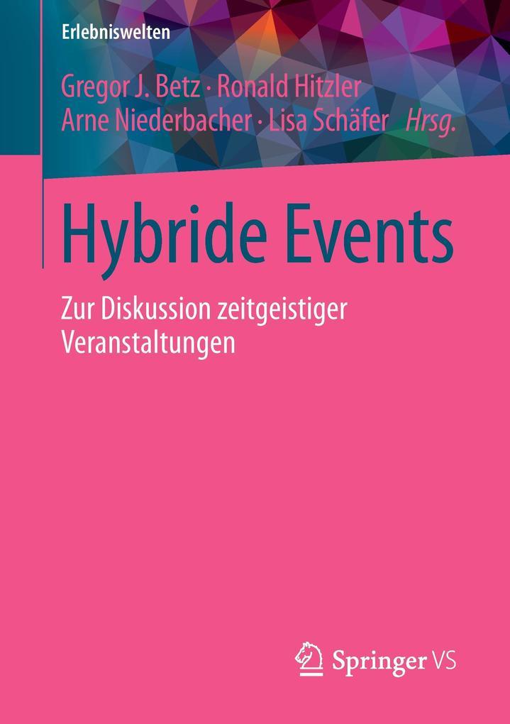 Hybride Events als Buch von