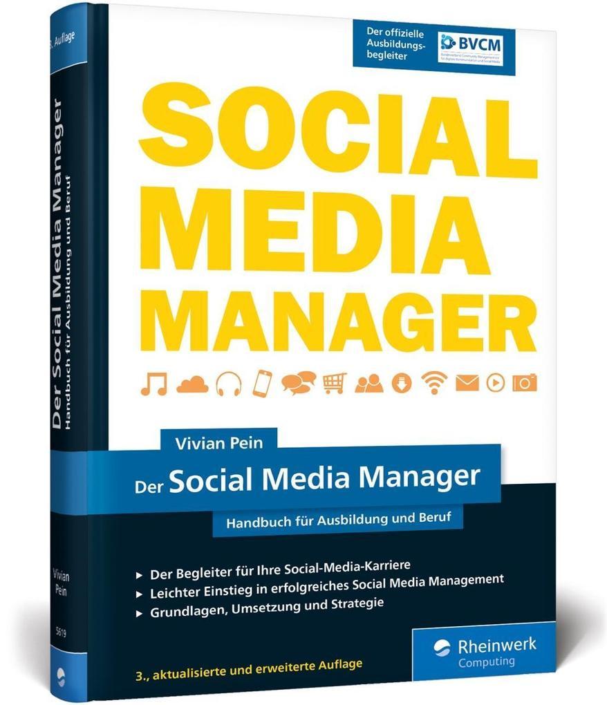 Der Social Media Manager als Buch von Vivian Pein