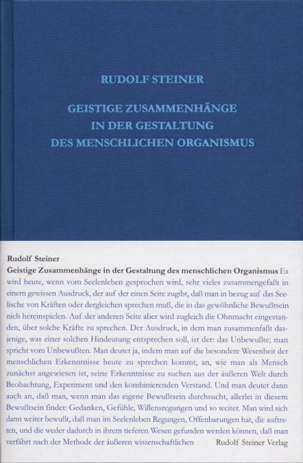 Geistige Zusammenhänge in der Gestaltung des menschlichen Organismus als Buch