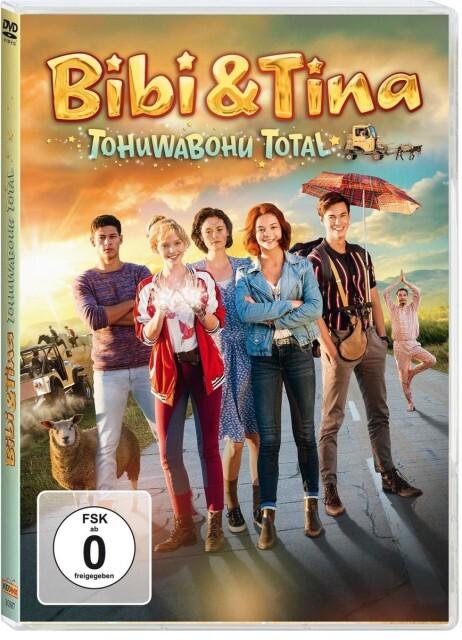 Bibi und Tina. 4. Kinofilm: Tohuwabohu total als DVD