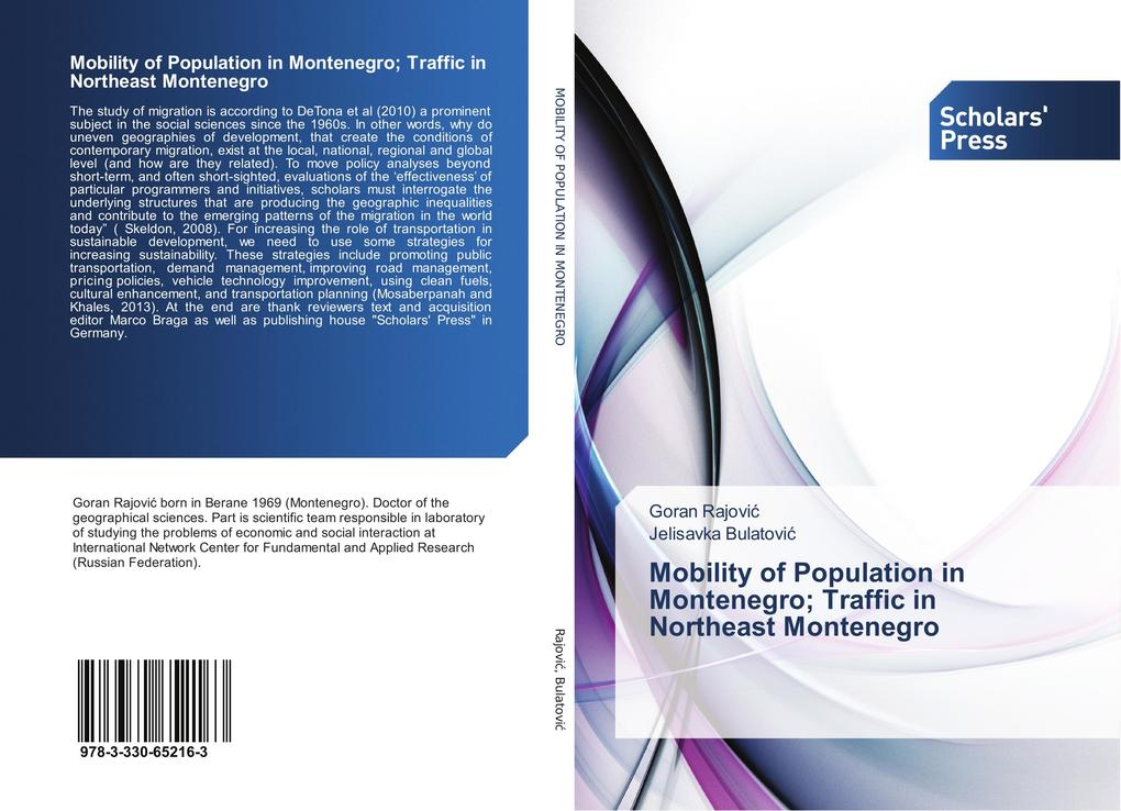 Mobility of Population in Montenegro; Traffic i...
