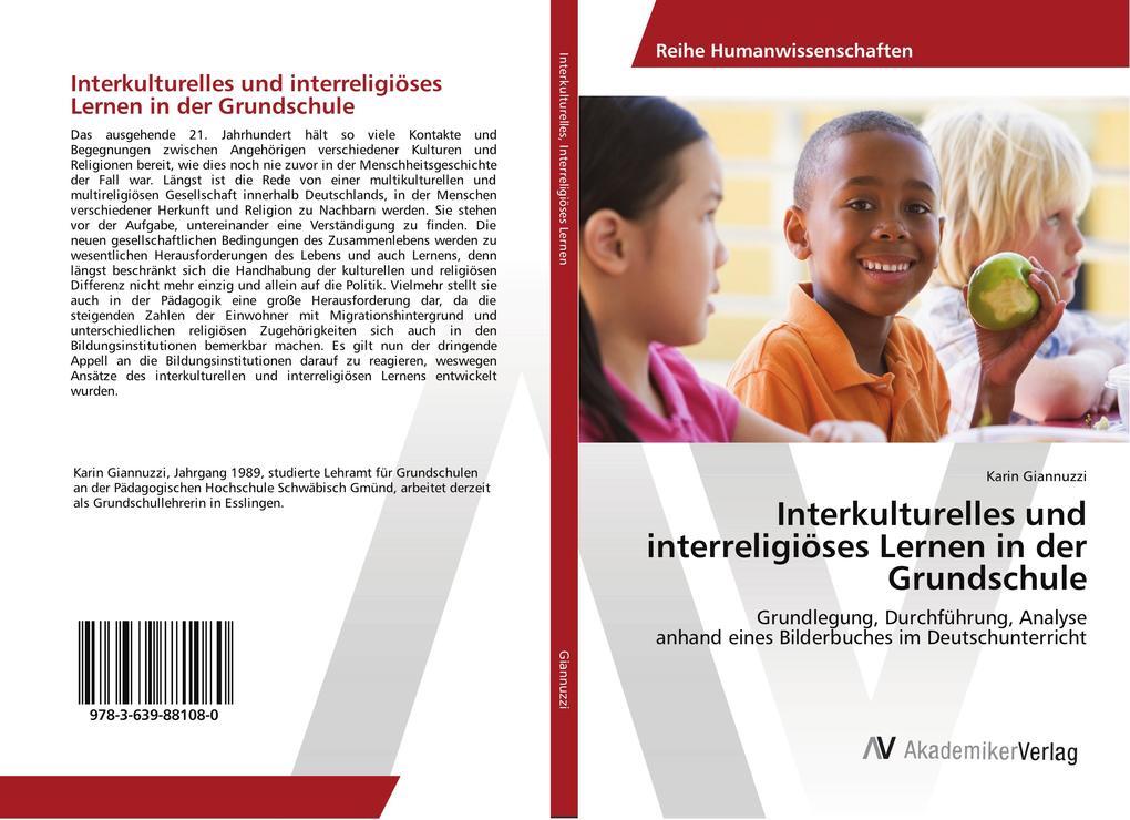 Interkulturelles und interreligiöses Lernen in ...