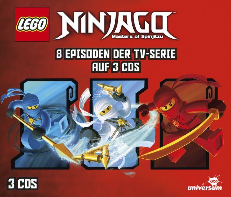 LEGO® Ninjago Hörspielbox 1 als Hörbuch