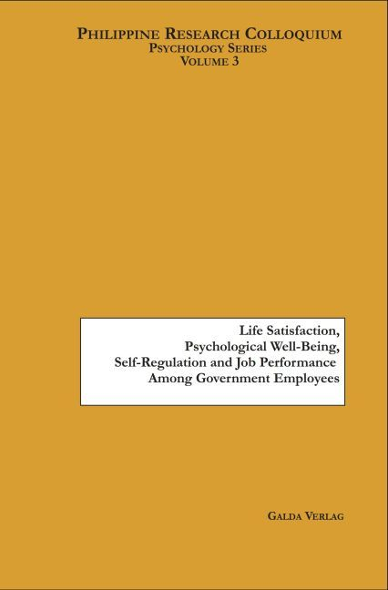 Life Satisfaction, Psychological Well-Being, Se...