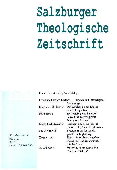 Salzburger Theologische Zeitschrift 18. Jahrgan...