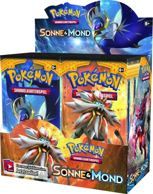 Amigo Spiele - Pokémon - Sonne und Mond 01 Booster als sonstige Artikel