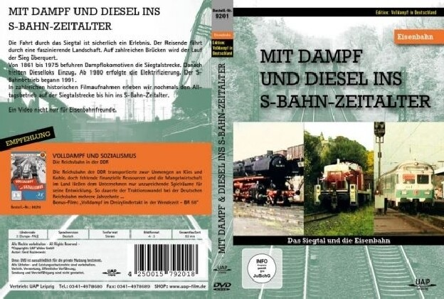 Mit Dampf und Diesel ins S-Bahn-Zeitalter - Das...