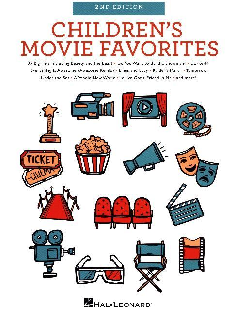 Children´s Movie Favorites 2nd Edition (Easy Pi...