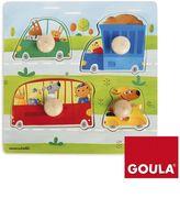 Goula Holzpuzzle Fahrzeuge 4-teilig
