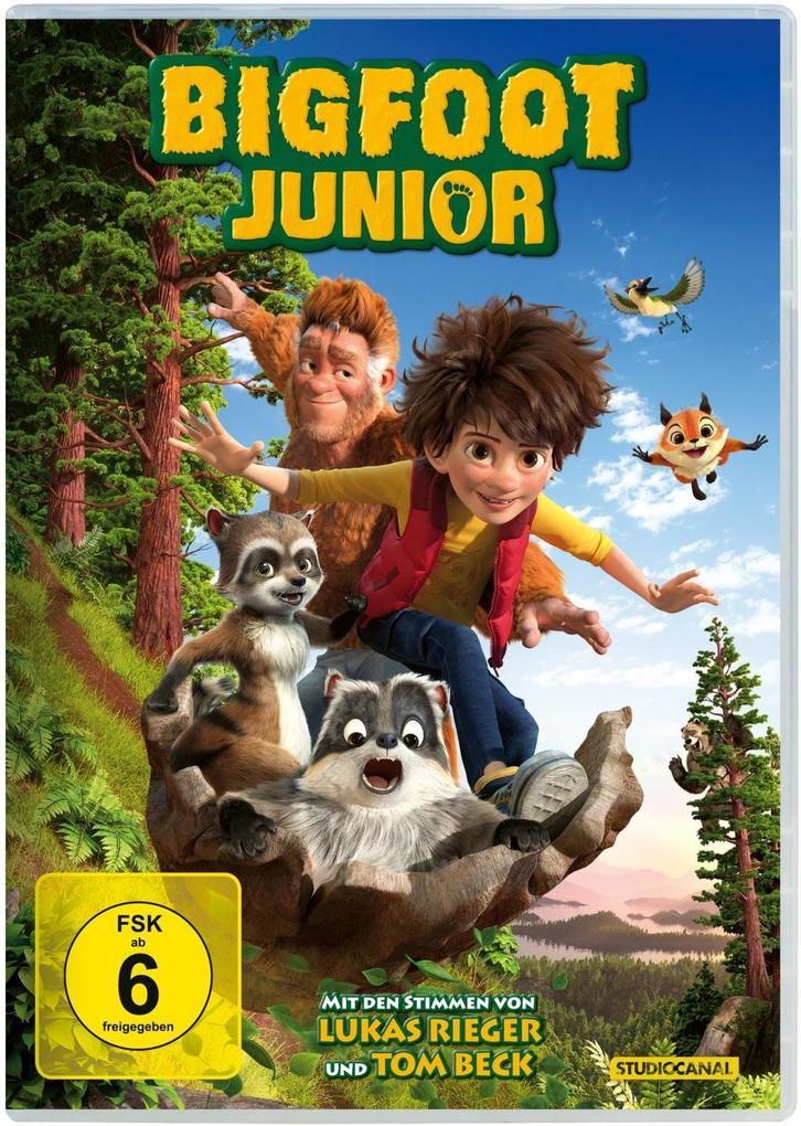 Bigfoot Junior als DVD