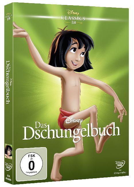 Das Dschungelbuch als DVD