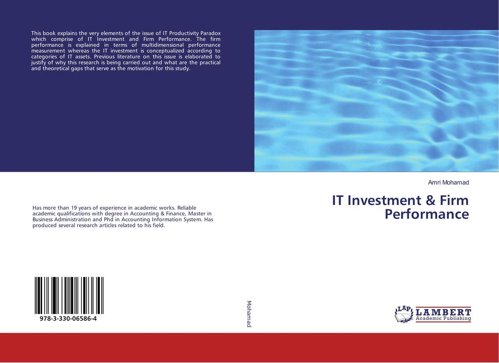 IT Investment & Firm Performance als Buch von A...