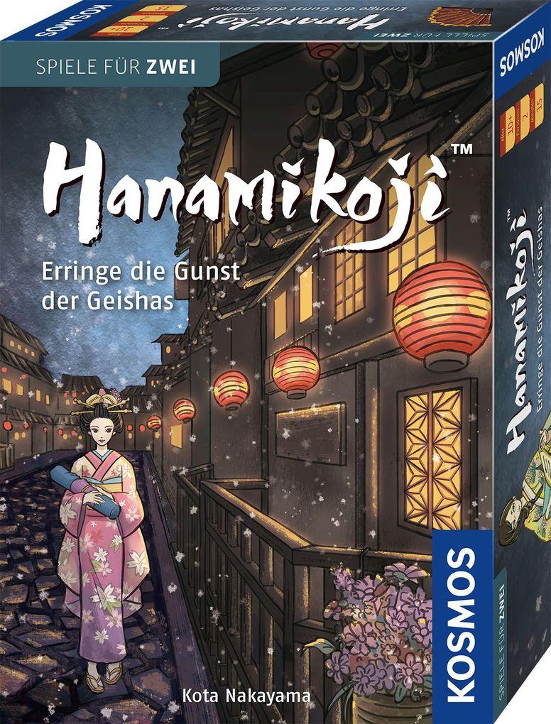 Hanamikoji - Erringe die Gunst der Geishas als Spielwaren