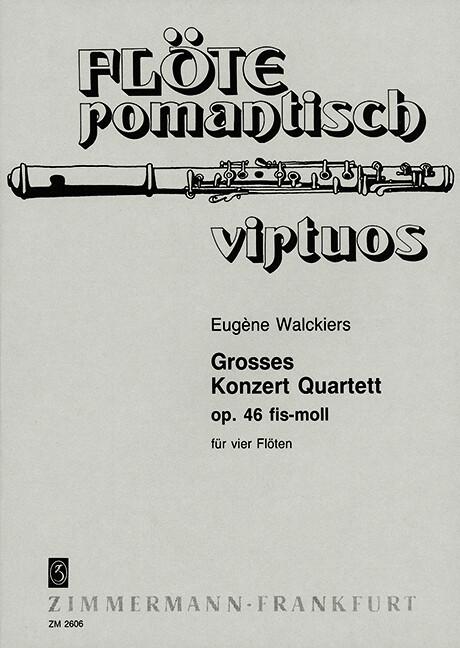 Großes Konzert Quartett fis-Moll als Buch von E...