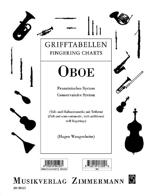 Grifftabelle für Oboe als Buch von