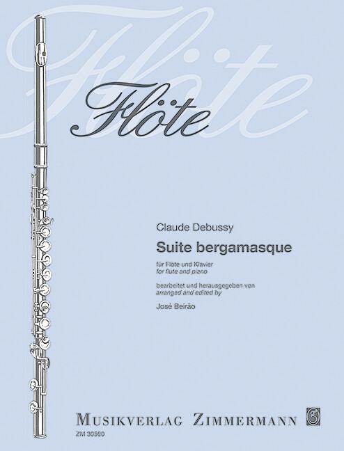 Suite bergamasque als Buch von Claude Debussy