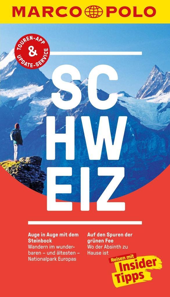MARCO POLO Reiseführer Schweiz als eBook