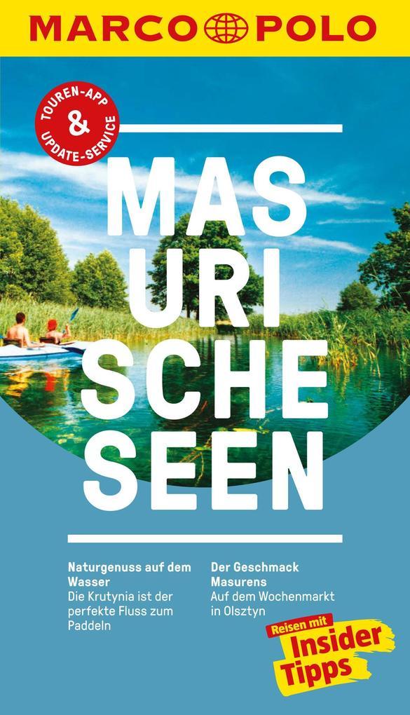 MARCO POLO Reiseführer Masurische Seen als eBook