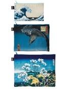 LOQI Zip Pocket MUSEUM Hokusai