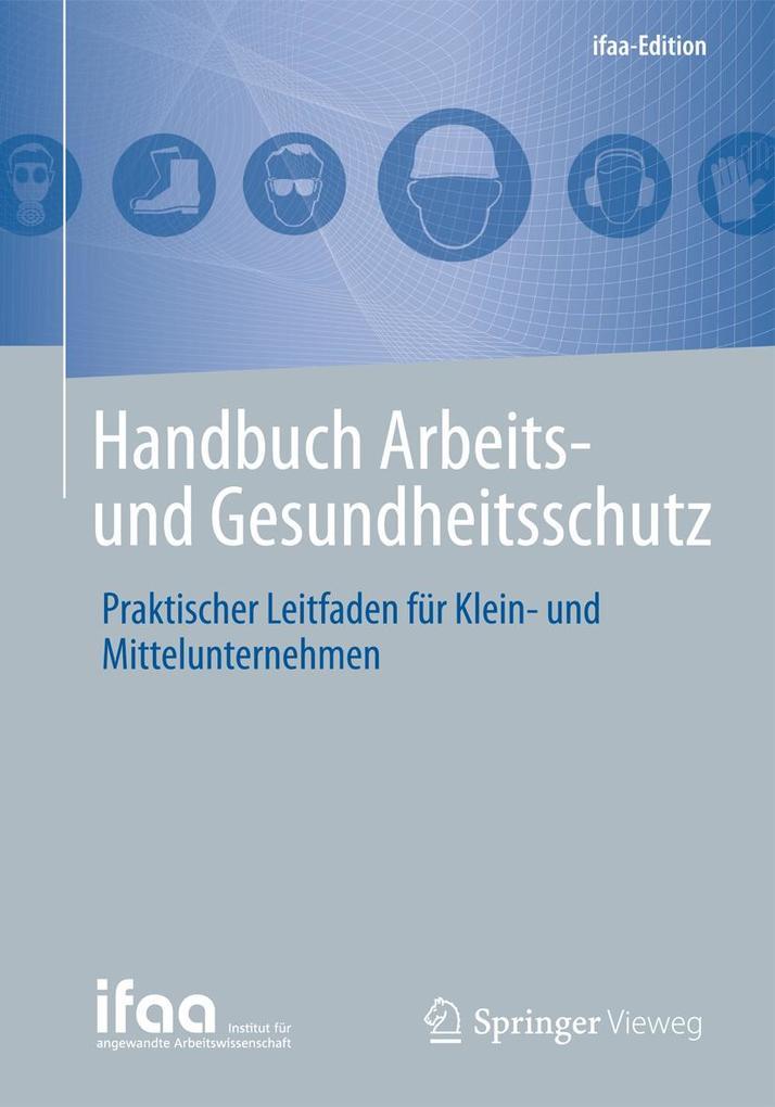 Handbuch Arbeits- und Gesundheitsschutz als Buc...