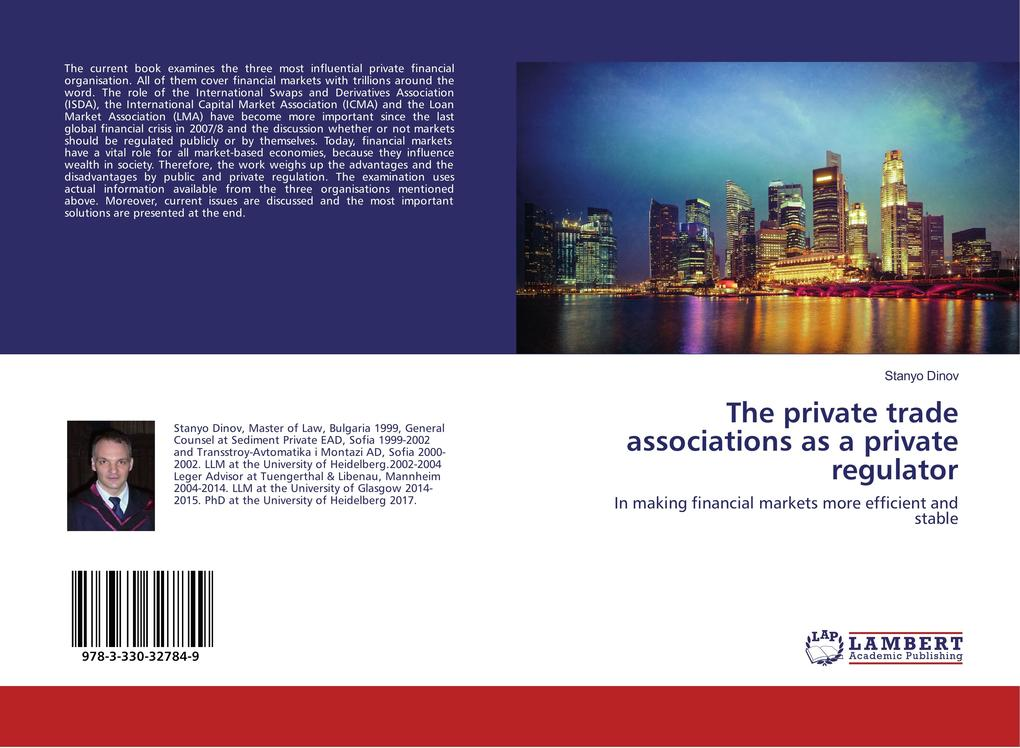 The private trade associations as a private reg...