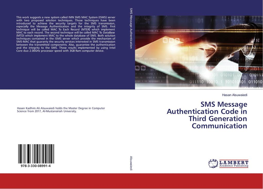 SMS Message Authentication Code in Third Genera...