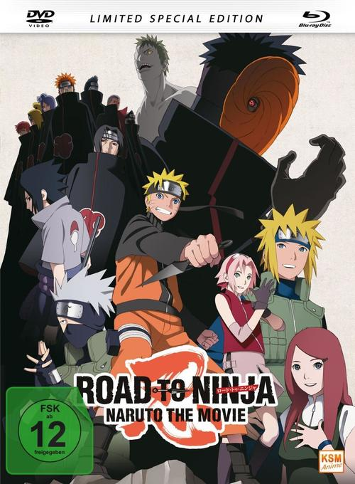 Road to Ninja - Naruto - The Movie (2012), 1 DVD + 1 Blu-ray (Limited Special Edition) als DVD