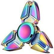 Fidget Spinner - Metall Spinner Regenbogen Krebs