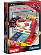 Clementoni - E-Lektor Quiz Basic Cars 3