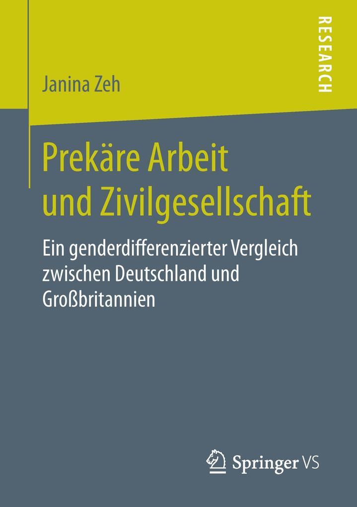 Prekäre Arbeit und Zivilgesellschaft als Buch v...