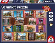 Fenster auf! - Puzzle 1000 Teile