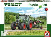 Schmidt Spiele - Puzzle - Fendt 211 Vario mit Fendt Wender Twister, 150 Teile