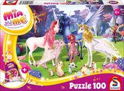 Mia and Me, 100 Teile - Kinderpuzzle mit Turnbeutel