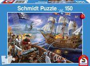 Abenteuer mit den Piraten, 150 Teile - Kinderpuzzle