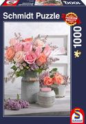 Landhausstil und Rosen - Puzzle 1000 Teile