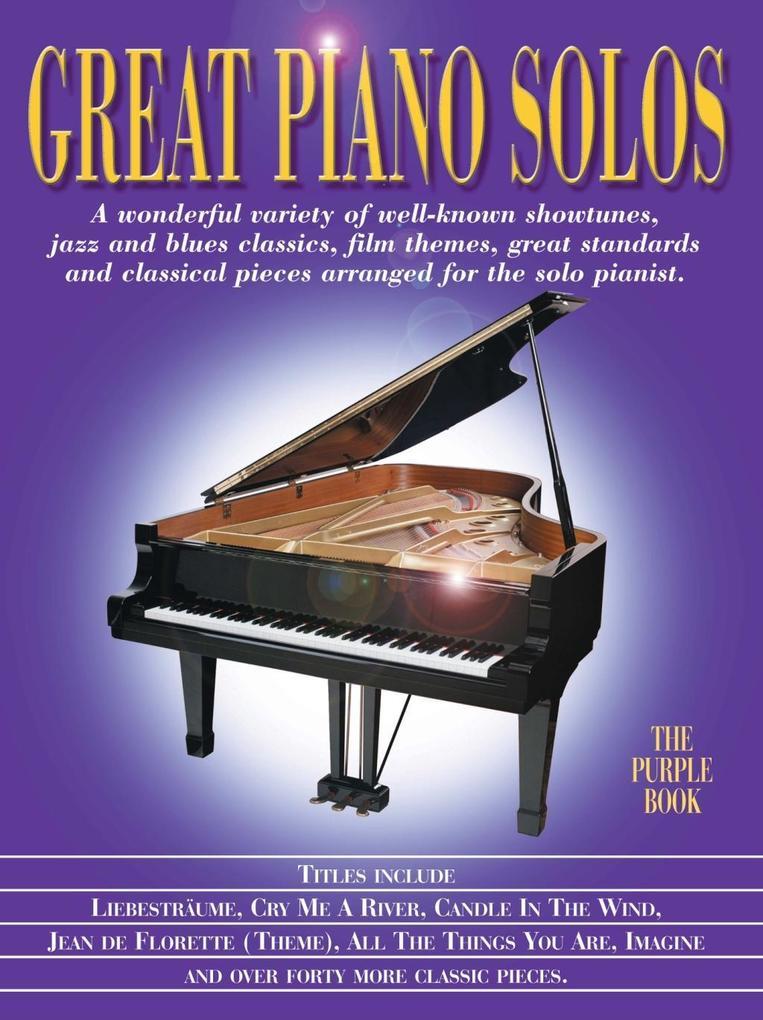 Great Piano Solos: The Purple Book als eBook Do...