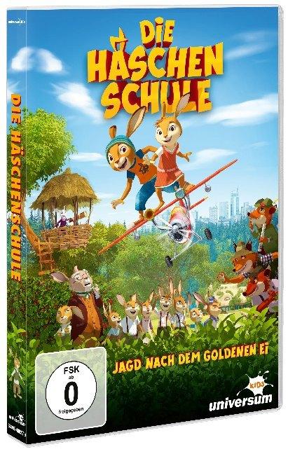 Die Häschenschule - Jagd nach dem goldenen Ei als DVD