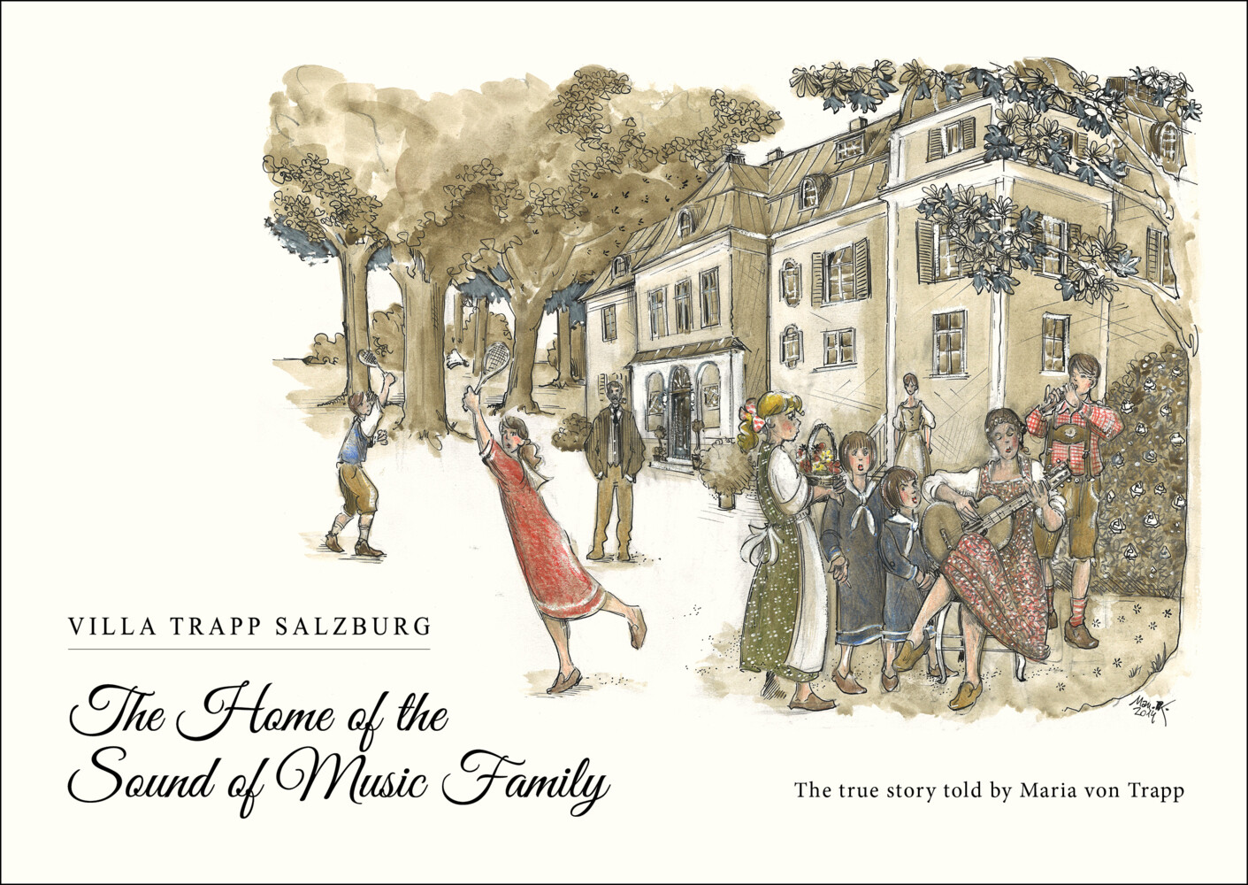 The Home of the Sound of Music Family als Buch ...