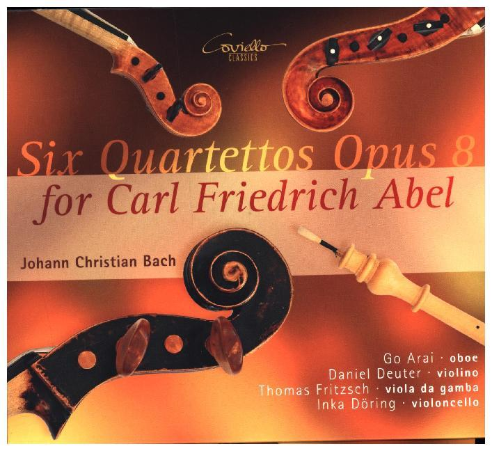 6 Quartette Op. 8 für Carl Friedrich Abel