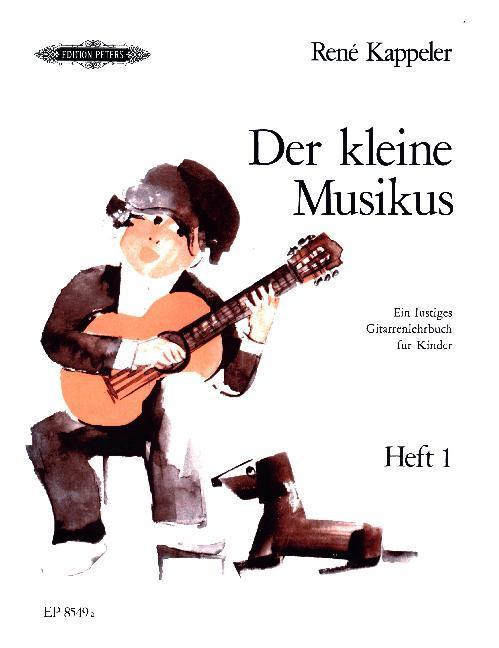 Der kleine Musikus -Ein lustiges Gitarrenlehrbu...