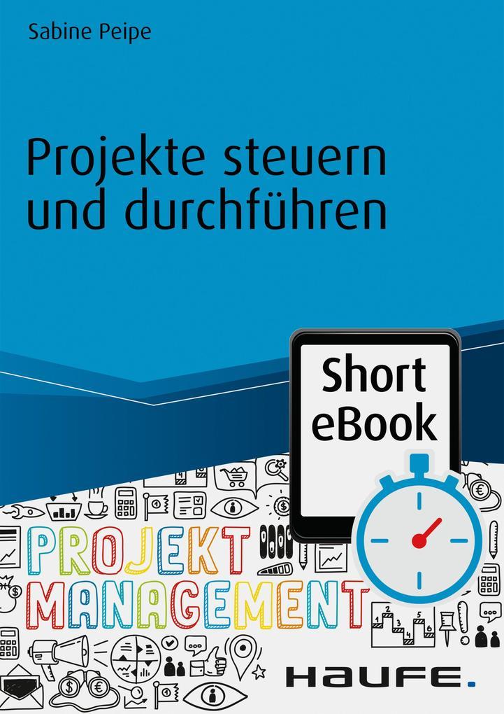 Projekte steuern und durchführen als eBook Down...