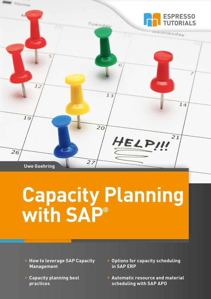 Capacity Planning with SAP als Buch von Uwe Göh...