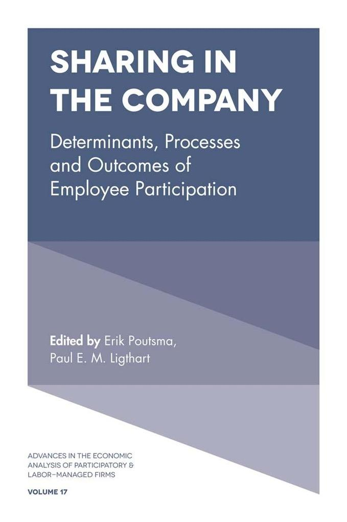 Sharing in the Company als eBook Download von